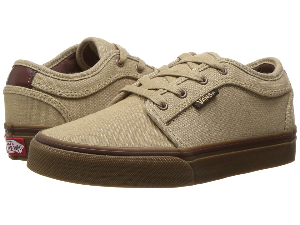 Vans Kids Chukka Low (Little Kid/Big Kid) ((Oxford) Cornstalk/Gum) Boys Shoes