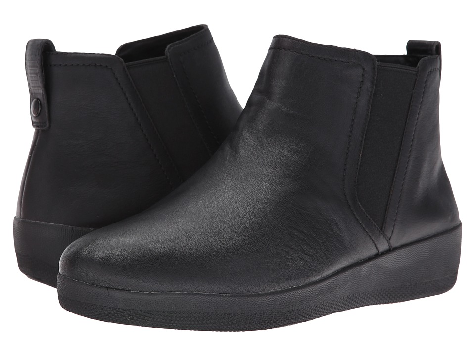 FitFlop Superchelsea Boot (Black) Women