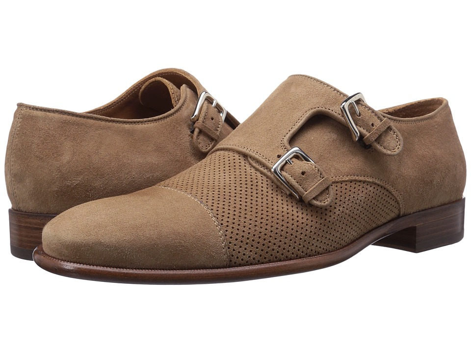 Bruno Magli Wesley Suede (Tan) Men