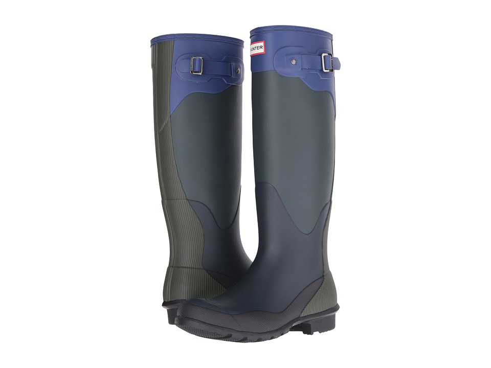 Hunter Original Tall High Tide (Ocean/Dark Olive/Navy/Deep Cobalt/Black) Women