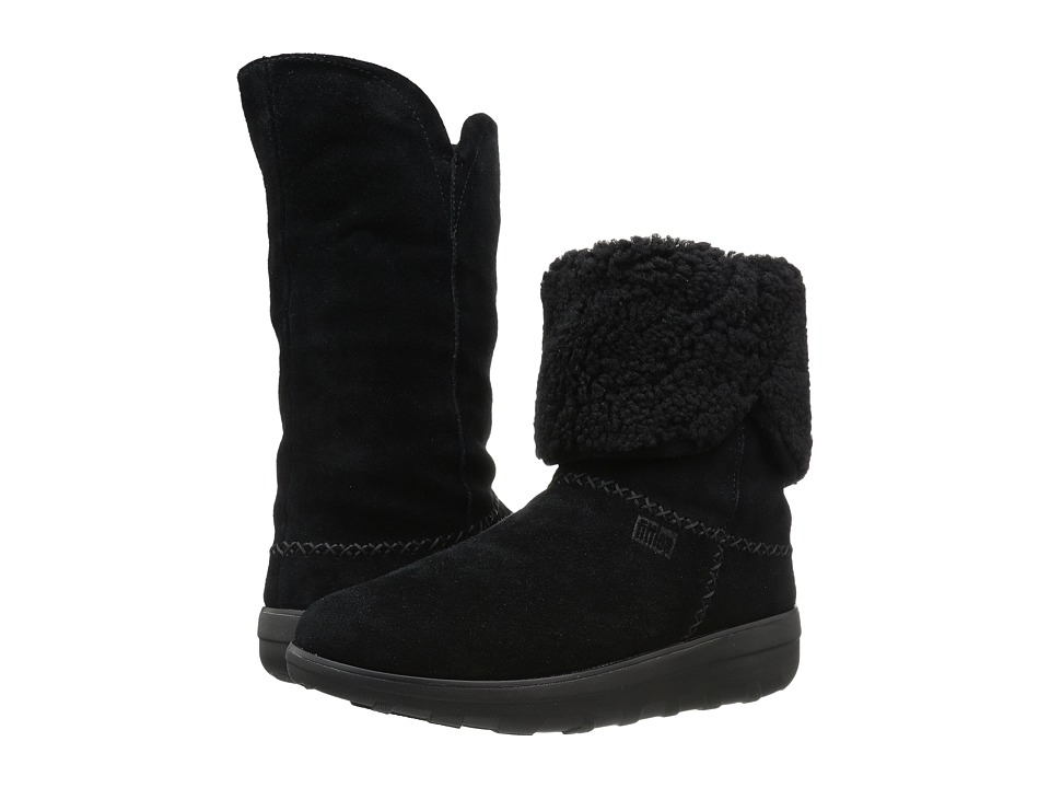 FitFlop Supercush Mukluk Boot (Black) Women