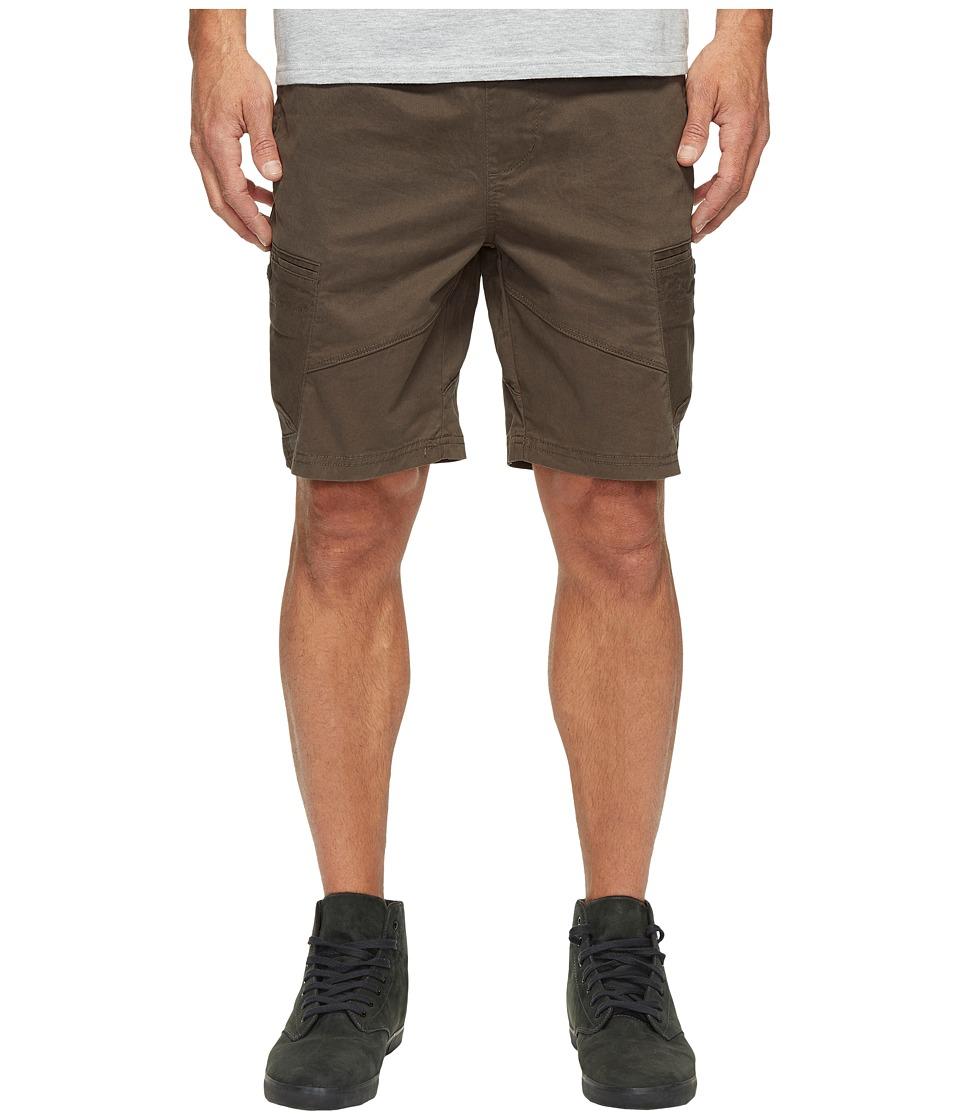 Globe Flight Shorts (Vintage Black) Men