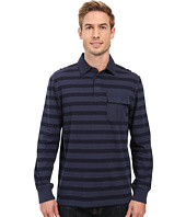 Nautica - Long Sleeve Shipman Stripe Polo