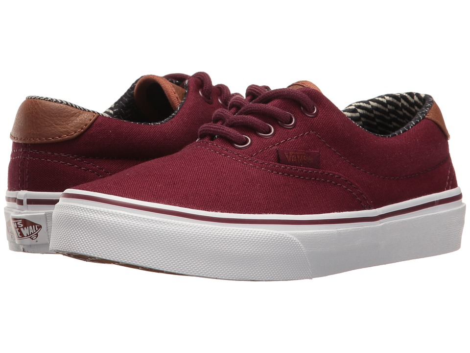 Vans Kids Era 59 (Little Kid/Big Kid) ((C&L) Port Royale/Material Mix) Boys Shoes
