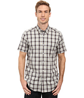 Nautica - Short Sleeve Wrinkle Resistant Medium Plaid Shirt
