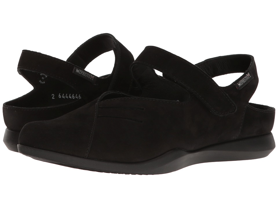 Mephisto Caterine (Black Bucksoft) Women