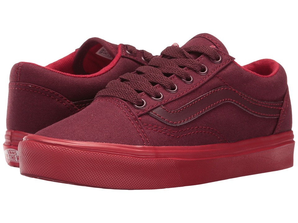 Vans Kids Old Skool Lite Pop Sole (Little Kid/Big Kid) ((Sole Dip) Port Royal/Racing Red) Boys Shoes