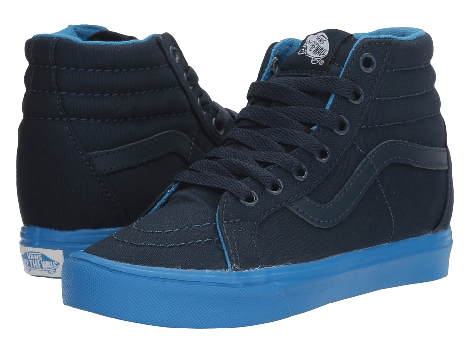 Vans Kids Sk8-Hi Reissue Lite (Little Kid/Big Kid) ((Sole Dip) Dress Blues/French Blue) Boys Shoes