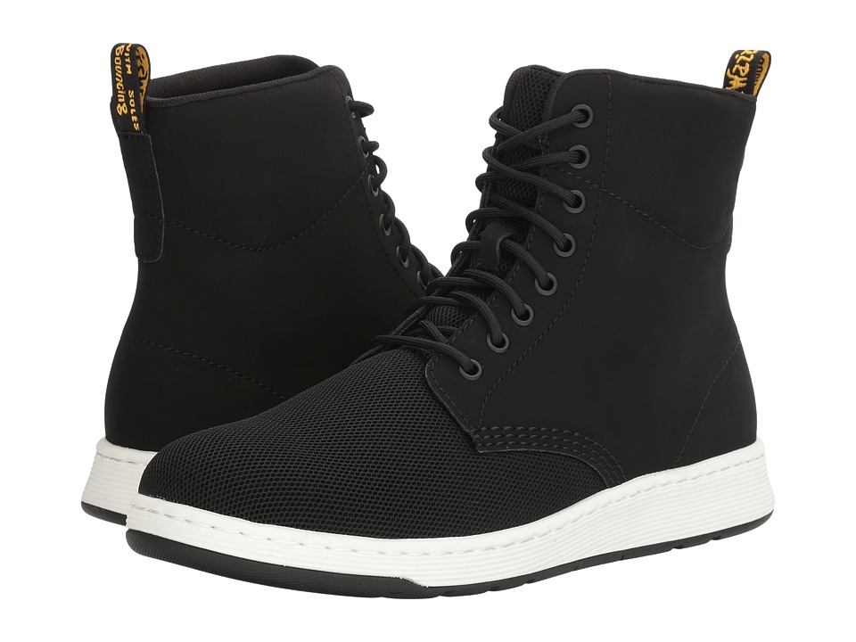 Dr. Martens Rigal MH (Black Sandwich Mesh/Synthetic Nubuck) Boots