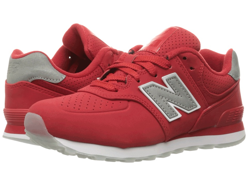 New Balance Kids KL574v1 (Little Kid) (Chinese Red/White) Boys Shoes