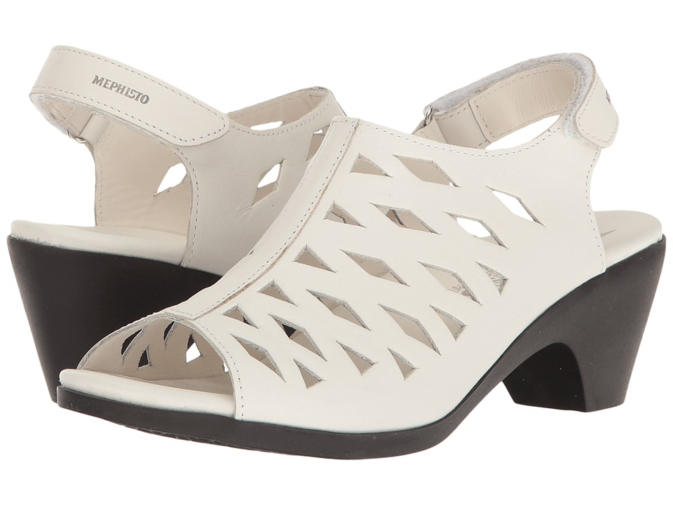 Mephisto Candice (White Smooth) Women