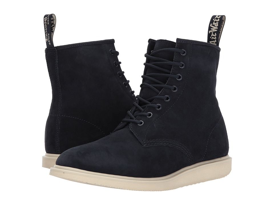 Dr. Martens Whiton (Dress Blues Hi Suede WP) Boots