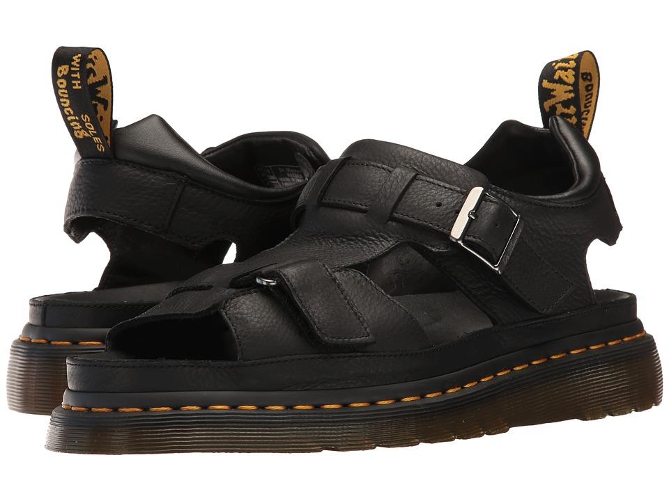Dr. Martens Hayden (Black Carpathian) Sandals