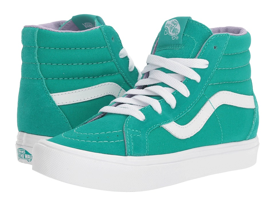 Vans Kids Sk8-Hi Reissue Lite (Little Kid/Big Kid) ((Pop) Columbia/True White) Girls Shoes
