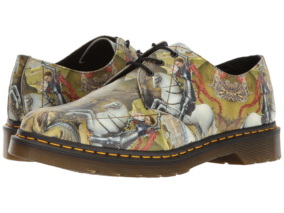 Dr. Martens 1461 (Multi George/Dragon Backhand) Industrial Shoes