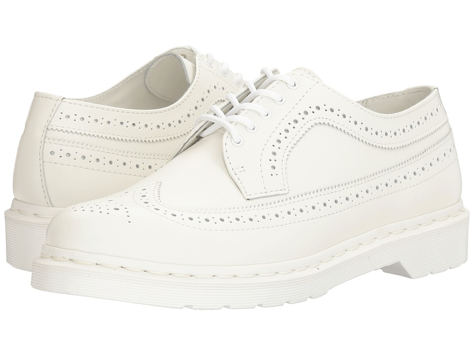 Dr. Martens 3989 (White Smooth) Lace up casual Shoes