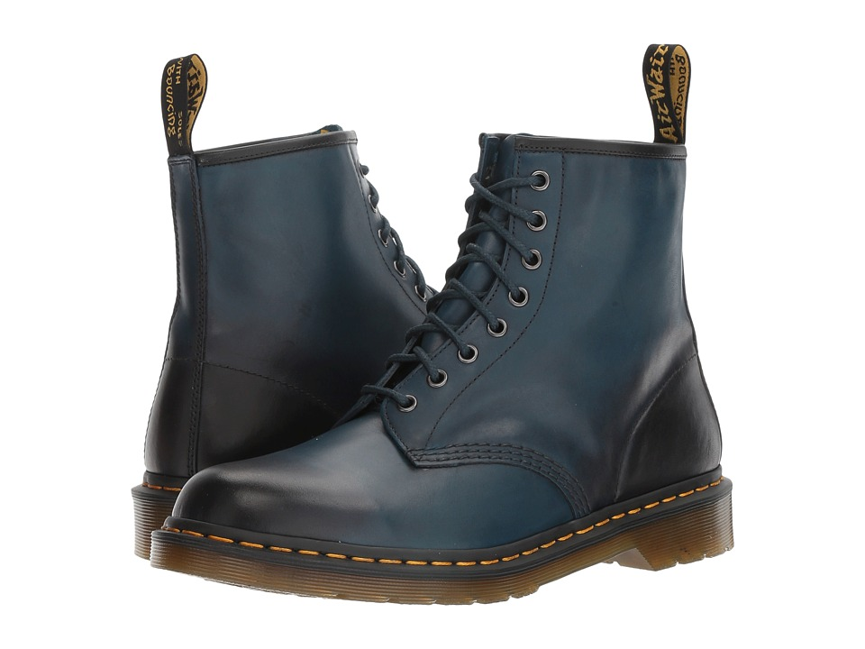Dr. Martens 1460 (Sea Blue Antique Temperley) Lace-up Boots