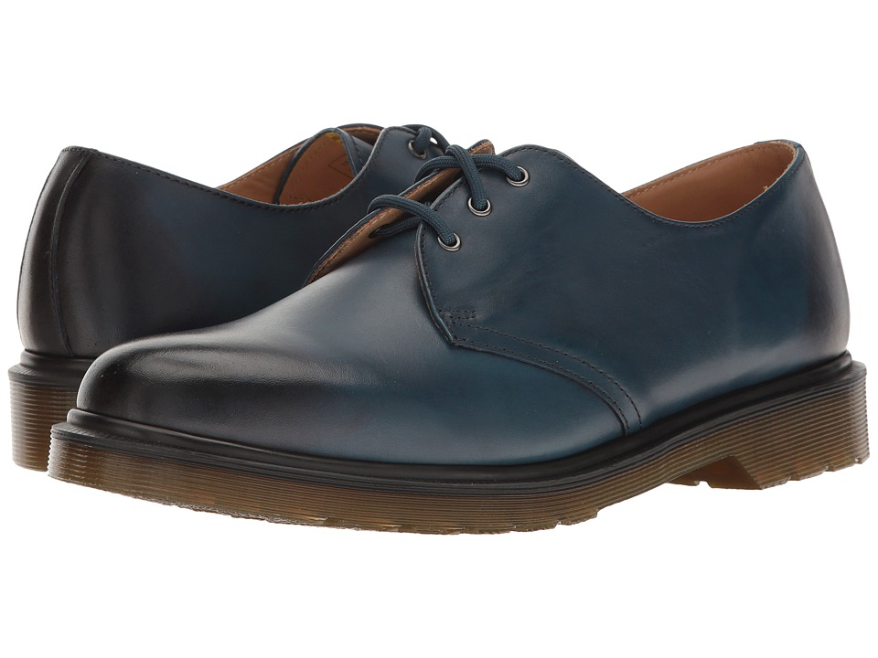 Dr. Martens 1461 (Sea Blue Antique Temperley) Industrial Shoes