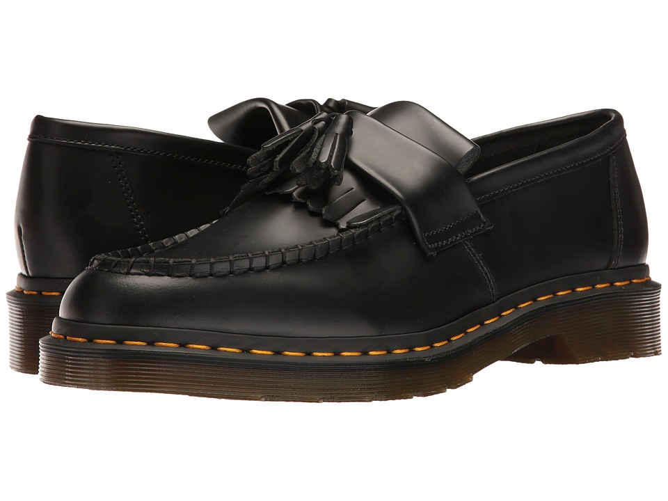 Dr. Martens Adrian (Black Smooth) Boots