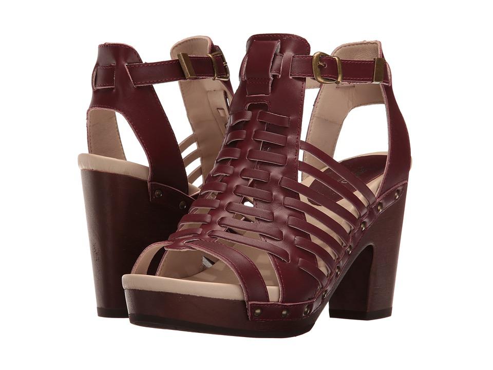 Jambu Valentina (Wine) High Heels