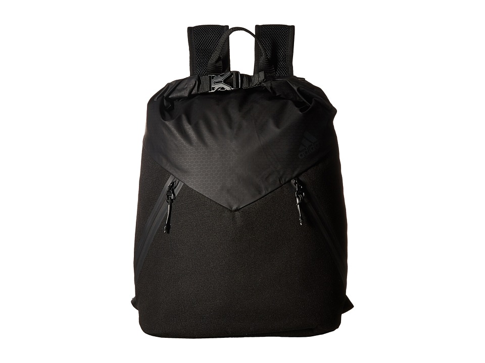 Adidas Sport ID Clip Pack (Black) Backpack Bags