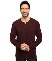 Kenneth Cole Sportswear - Long Sleeve Slub Henley