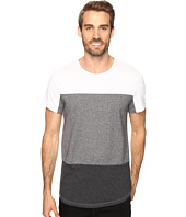Kenneth Cole Sportswear - Short Sleeve Fabric Block Crew