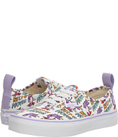 Vans Kids - Authentic Elastic Lace x Dallas Clayton (Little Kid/Big Kid)
