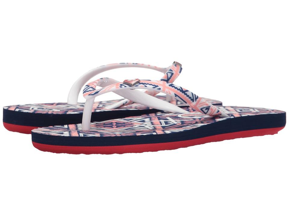 Roxy Kids Pebbles V (Little Kid/Big Kid) (Remedy Print) Girls Shoes