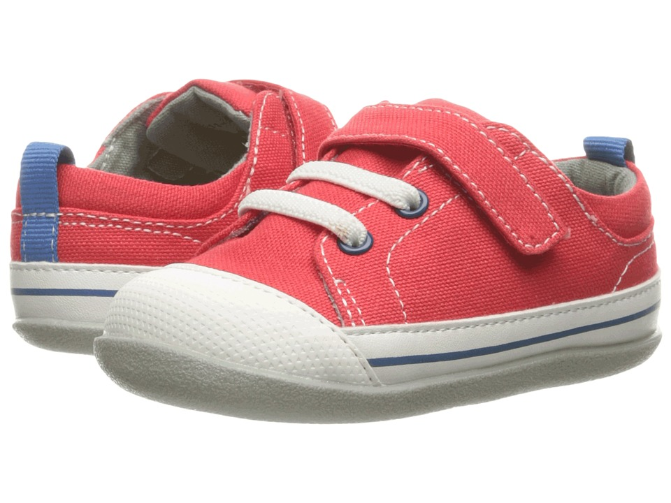 See Kai Run Kids Stevie II (Infant) (Red Canvas) Boy's Shoes