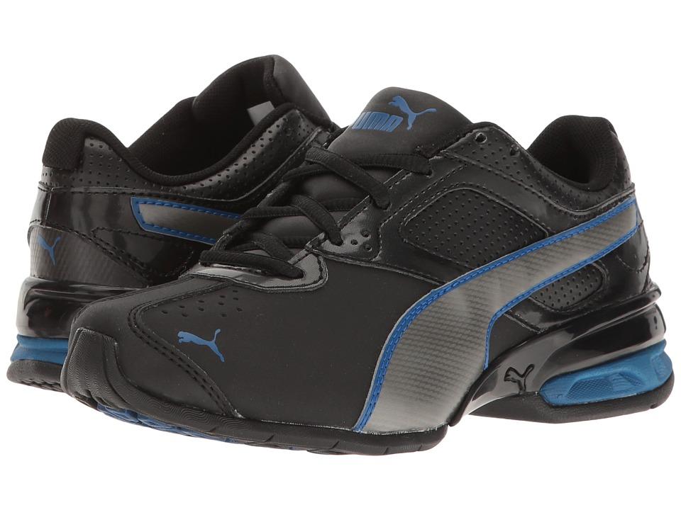 Puma Kids Tazon 6 SL PS (Little Kid/Big Kid) (Puma Black/Puma Aged Silver) Boys Shoes