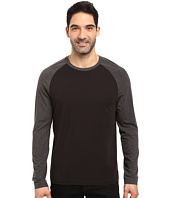 Kenneth Cole Sportswear - Cotton Tech Color Block Long Sleeve T-Shirt