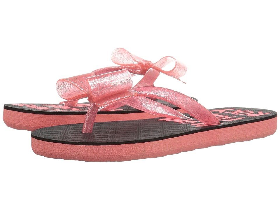 Roxy Kids Lulu II (Little Kid/Big Kid) (Red/Black) Girls Shoes