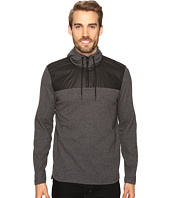 Kenneth Cole Sportswear - 1/2 Zip Hoodie with Nylon