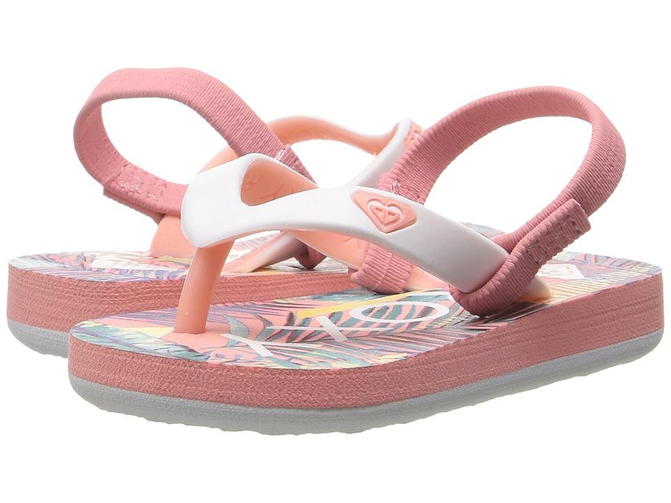 Roxy Kids Tahiti VI (Toddler/Little Kid) (Peach Parfait/Sea) Girls Shoes