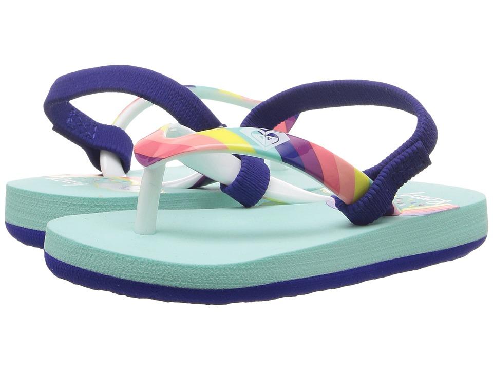 Roxy Kids Pebbles VI (Toddler/Little Kid) (Rainbow) Girls Shoes