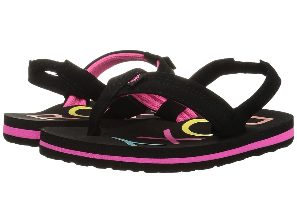 Roxy Kids Vista II (Toddler/Little Kid) (Black) Girls Shoes