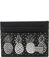 Dolce & Gabbana - Pineapple Printed Card Holder