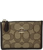 COACH - Box Program Signature Jacquard Mini Skinny