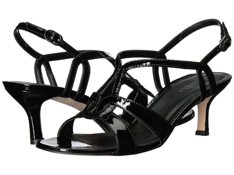 Vaneli Meteor (Black Patent) High Heels