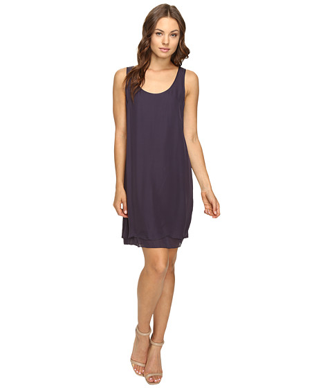 HEATHER Double Layer Silk Scoo...