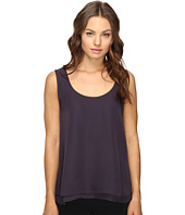 HEATHER - Silk Double Layer Tank Top