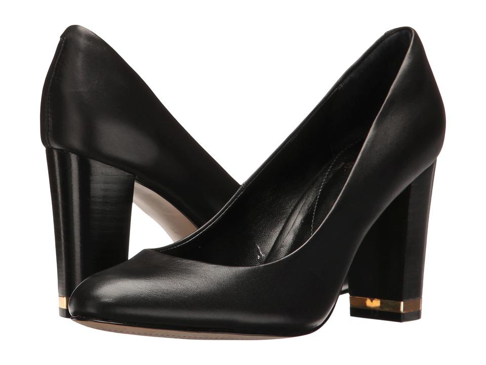 Isola Eleni III (Black Cow Quilin) High Heels