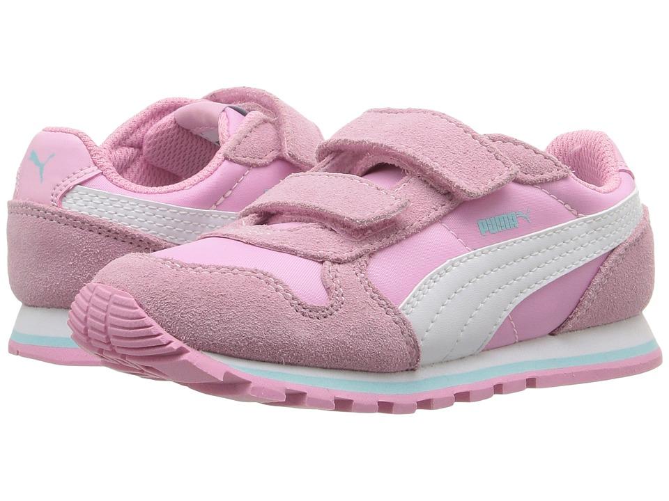 Puma Kids ST Runner NL V Inf (Toddler) (Prism Pink/Puma White) Girls Shoes