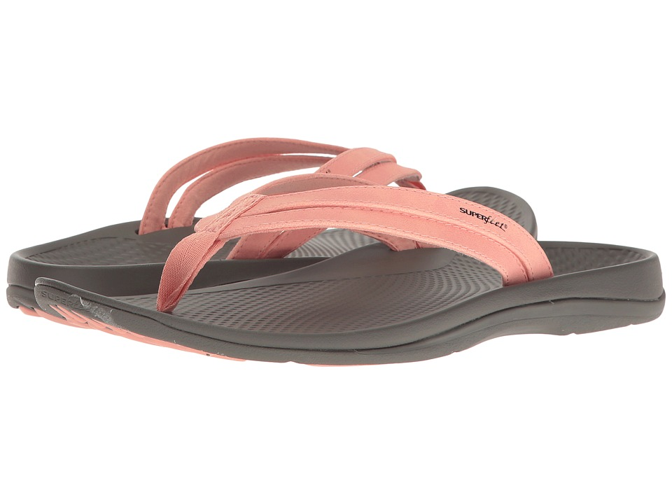 Superfeet - Rose (Tropical Peach) Women's Sandals