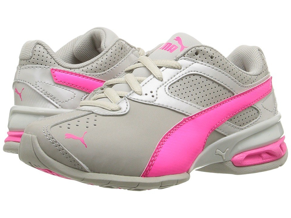 Puma Kids - Tazon 6 SL PS (Little Kid/Big Kid) (Gray Violet/Knockout Pink) Girls Shoes