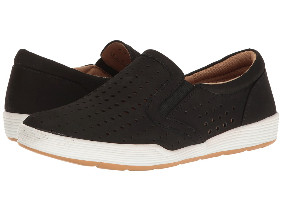 Comfortiva - Lyra (Black Otago Softy Nubuck) Womens Slip on  Shoes
