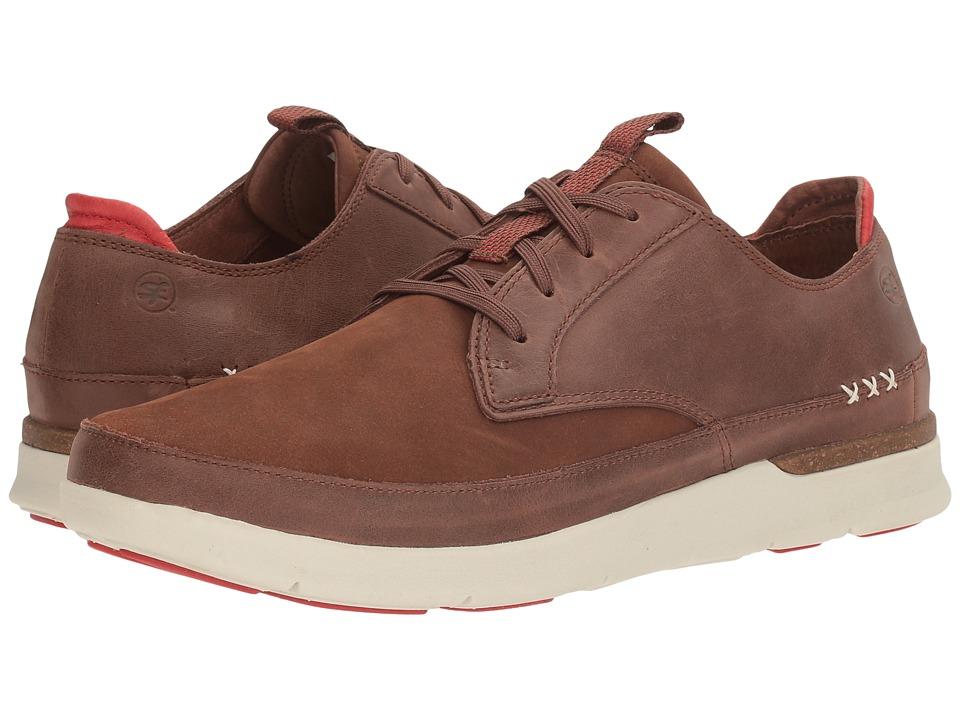 Superfeet Ross (Friar Brown/Molten Lava) Men's Shoes