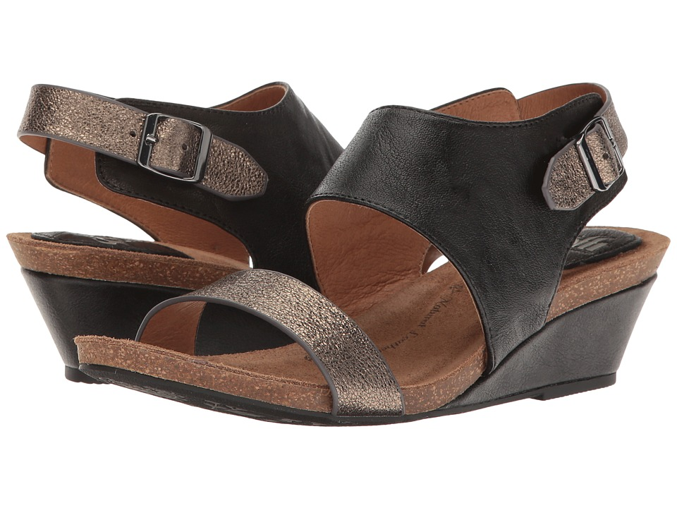 Sofft Vanita (Black/Copper Oyster/Scoop) Women
