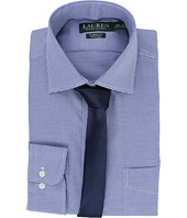 LAUREN Ralph Lauren - Basket Weave Spread Collar Classic Button Down Shirt